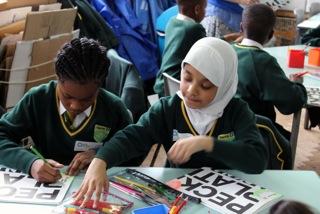 Arts Award Students, Peckham Platform