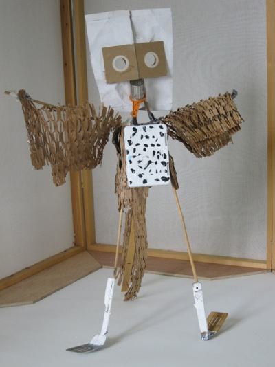 'The Thrush' by year 5 child during 'Animal Spirits' project